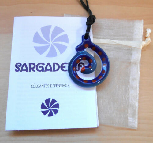 Protection from Harm Sargadelos Porcelain Charm Necklace NEW