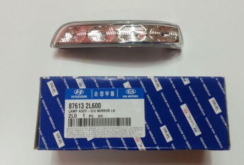 Elantra Touring i30 i30CW 2008-2012 OEM Side Mirror Signal Lamp Repeater Left
