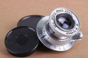 Leitz-Elmar-3-5-50-mm-Silber-RF-m39-Lens-Leica-Zeiss-eleitz-Wetzlar