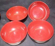 Restaurant Equipment Bar Supplies 4 Ever Unison Melamine Ware Black Bowls Large