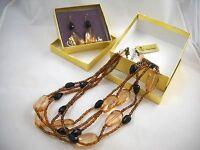 Premier Designs Debut Necklace Earring Set & Box