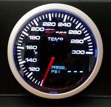 60mm Depo Racing 2 in 1 Oil Pressure / Oil & Water Temp Gauge WA603426B digital