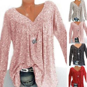 Tops-Size-Womens-Baggy-Tunic-Boho-Blouse-Ladies-Long-Loose-Plus-T-Shirt-Sleeve