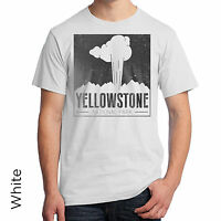 Yellowstone National Park T-shirt Wyoming Montana Idaho Native American 998