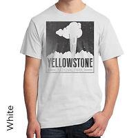 Yellowstone National Park T-shirt Wyoming Montana Idaho Native American 998