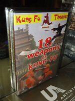 18 Weapons Of Kung-fu (dvd) Jang Lee Hwang, Chiang Wang, English Dub Brand