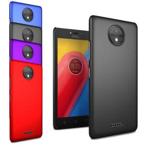 Pour-Motorola-Moto-C-Slim-Hard-Case-Mince-Hybrid-Housse-amp-protecteur-d-039-ecran