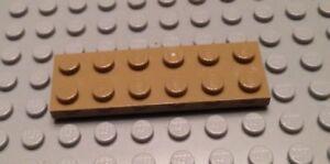 New New Flat 2x6 Reddish Brown 6 x lego 3795 Plate Brown