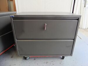 OFFICE-2-X-DRAWER-LATERAL-LOCKABLE-FILING-CABINET-BRISBANE
