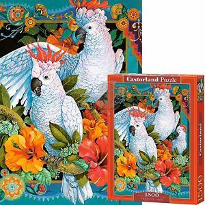 Castorland 1500 Piece Jigsaw Puzzle Tropical Trio