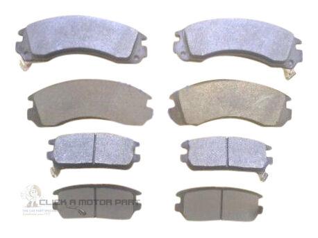 FRONT /& REAR BRAKE PADS FOR MITSUBISHI SHOGUN PAJERO MOST MODELS MINTEX