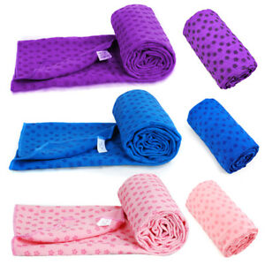 Sport-Fitness-Travel-Exercise-Yoga-Mat-Cover-Towel-Blanket-Non-Slip-Pilates