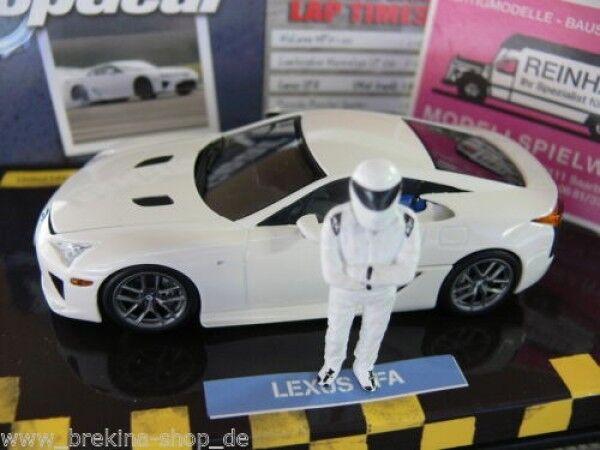 1 43 Minichamps Lexus LFA Top Gear Blanc