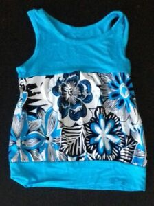 Tshirt-Turquoise-2-ans-avec-Strass-Tbe