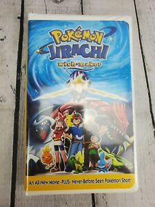 Pokemon Jirachi Wish Maker Vhs 2004 Clamshell 786936244106