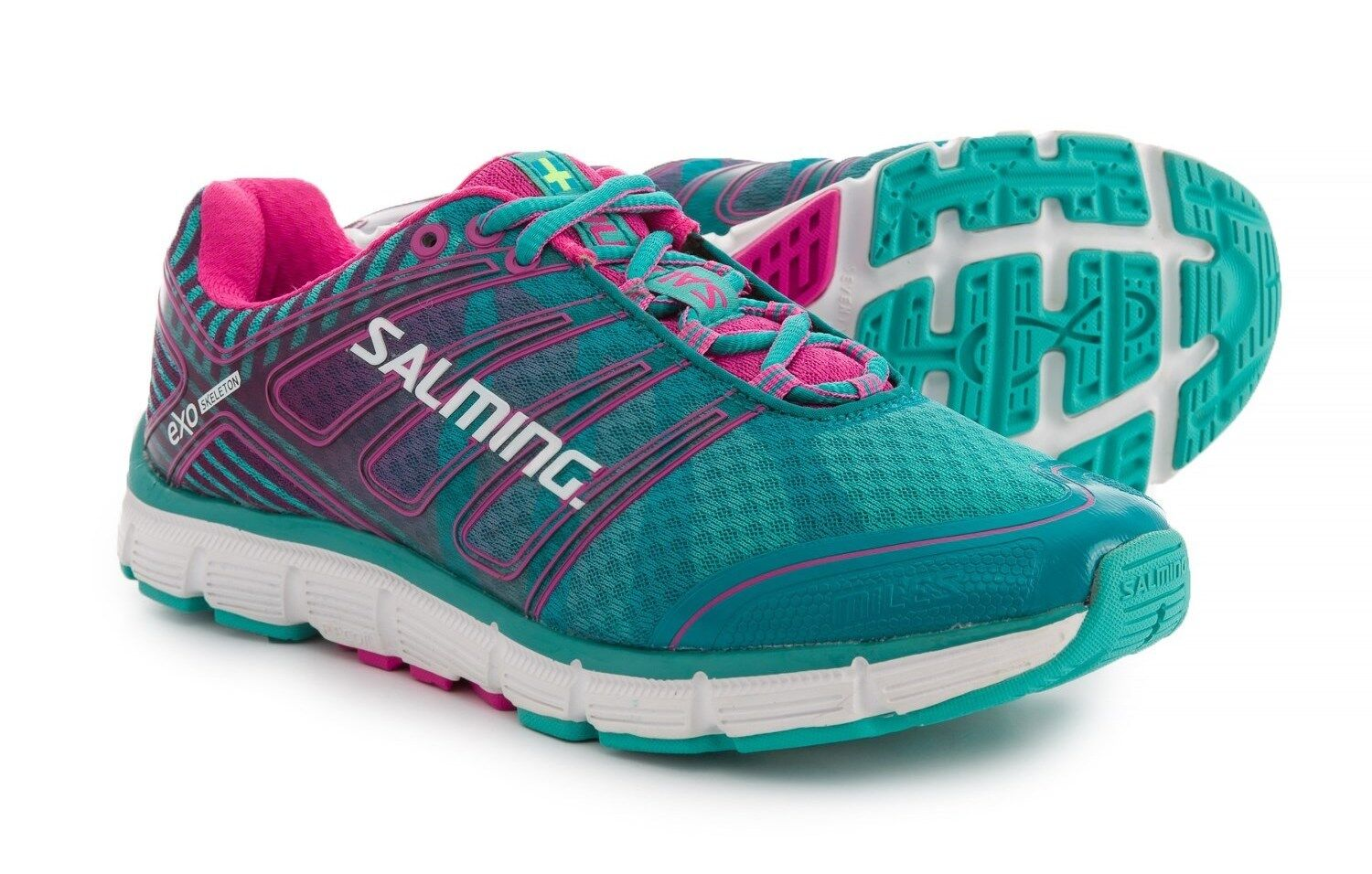 NEW WOMENS SALMING MILES RUNNING TRAINING SHOES - 9   EUR 40 2 3 AUTHENTIC  145