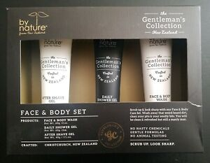The-Gentleman-039-s-Collection-Face-amp-Body-Wash-Aftershave-amp-Shower-Gel-Natural