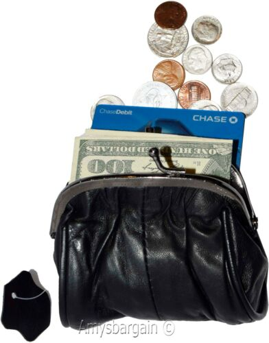 Change Purse Women's pretty Leather Change bag mini pocket coin case coin case