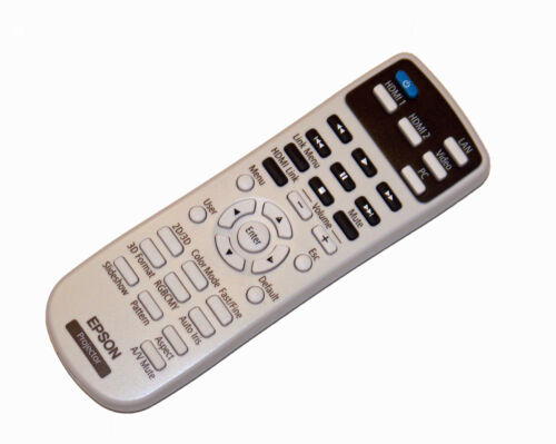Epson Projector Remote Control PowerLite Home Cinema 2000 /& 2030 /& EH-TW5200