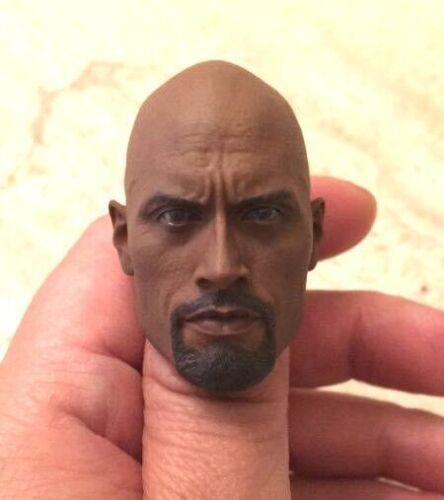 1/6 Scale Gi Joe Roadblock Dwayne Johnson The Rock Head Fit 12 Hot Toys Figure