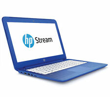 "HP Stream 13-c150sa 13.3"" Laptop Blue 2 GB RAM 32 GB eMMC Windows 10"