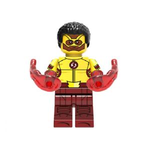 Wally West Dc Super-herói Mini Brinquedo Boneco De Ação MOC FLASH A Série