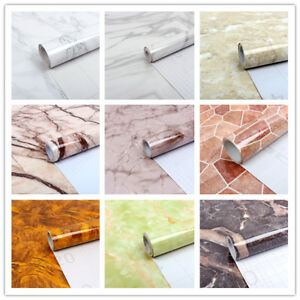 Details About Marble Self Adhesive Wallpaper Vinyl Counter Top Kitchen Wall Sticker Waterproof