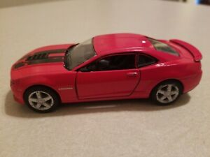 "Kinsmart 5/"" 2014 Chevy Chevrolet Camaro Diecast Model Toy Car 1:38 Grey"