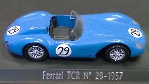Solido-retro-Le-Mans-Ferrari-TCR-No-29-1957-1-43