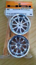 #104442 LP35 Wheel Work Schwert SC4 Chrome (Off Set 9mm) (Traxxas Associated HPI