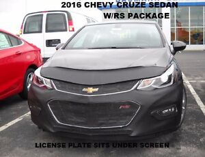 Details About Lebra Front Mask Cover Bra Fits 2016 2018 Chevrolet Cruze Sedan W Rs Package