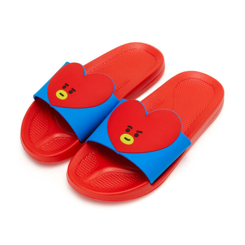 TATA Character Women/'s Slippers 100/% Authentic Item Free Tracking BT21
