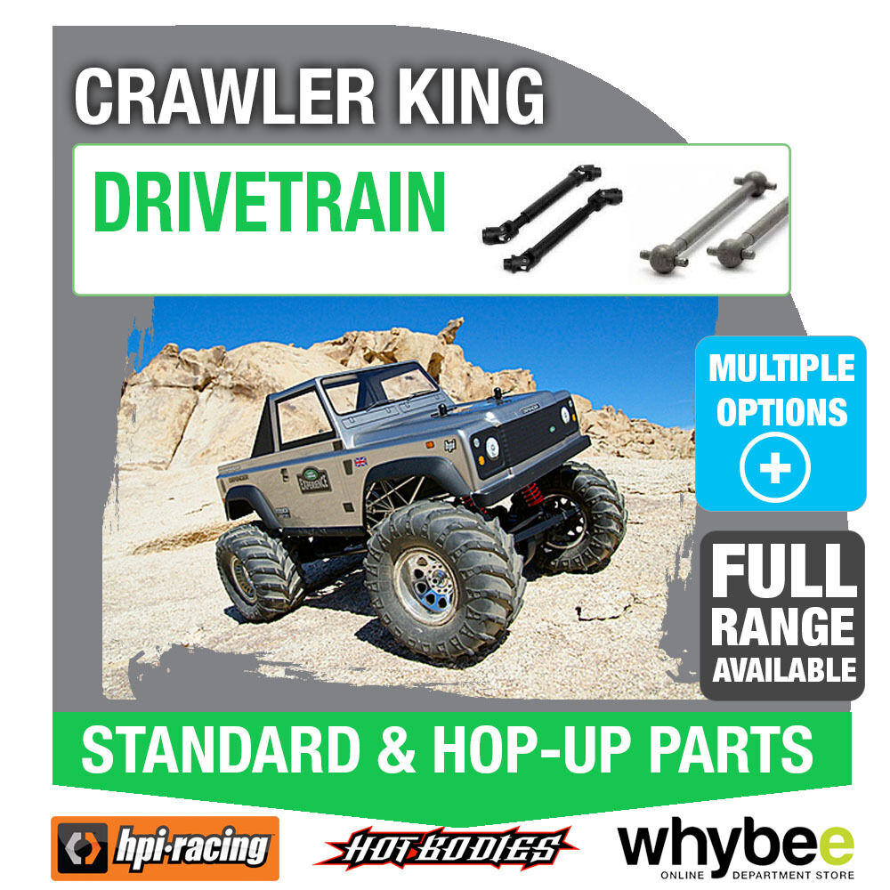 HPI CRAWLER KING [Drivetrain Parts] Genuine HPi Racing R C Parts