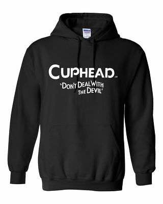 Cuphead Logo Hooded Hoody Xbox Inspired Gift Kids And Adults