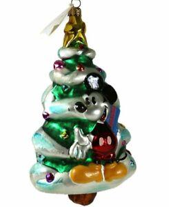 Radko | MICKEY MINNIE CHRISTMAS TREE ORNAMENT *NEW* RARE ...