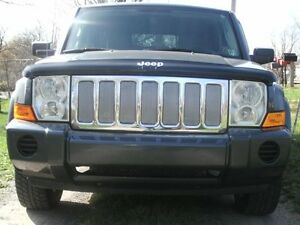 Chrome Mesh Grille Grill Kit For Jeep Commander 05 06 07 08 09 10 701231040178 Ebay