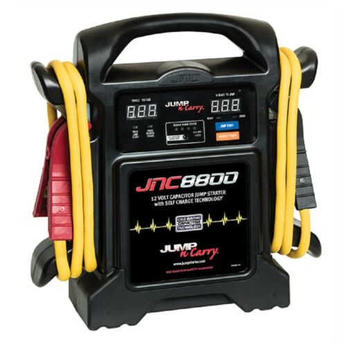 Jump N Carry 8800 800 Amp Start Assist Amp Capacitor Car Or Truck Jump Starter