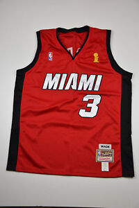 6d59d2f62ab5 Image is loading NBA-Shirt-Miami-Heat-Dwayne-Wade-3-Mitchell-