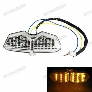 Led Taillight Integrated Turn Signals For Yamaha Yzf R6
