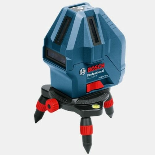 Bosch GLL 5-50X Professional Level Measure 5-Line Laser Self-Leveling Tool_AC