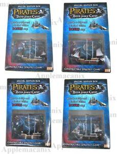 Pirates-CSG-of-Davy-Jones-Curse-Wizkids-Set-of-4-SE-Boxes-BD-BK-Richards-NM-NEW