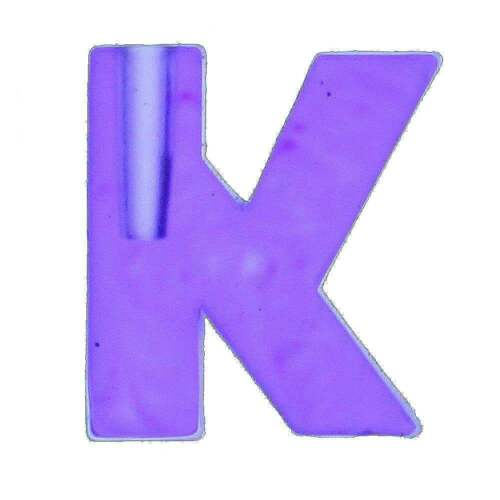 Royal County Create Your Name in Lights Letter K NIL-LETTER-K