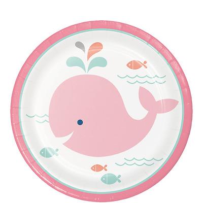Lil/' Spout Whale Blue Baby Shower Party Supplies Cup