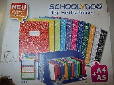 Herma Heftumschlag Schoolydoo Heftschoner DIN A4 11 Farben