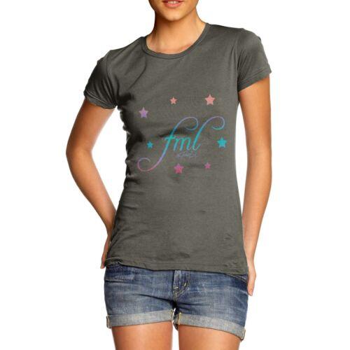 Twisted Envy femme F ** K ma vie Elm T-Shirt