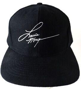 Lorrie-Morgan-Signature-Logo-Snapback-Cap-Hat-Black-White-Country-Music