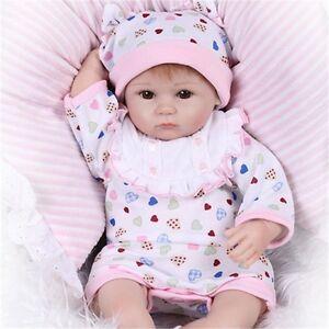 Lifelike Realistic Reborn Baby Doll Silicone Vinyl Reborn Baby Dolls