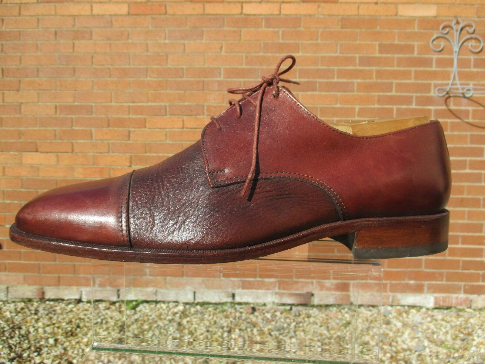 !!! Superbe!!! LOAKE Oakham Homme Taille Chaussures Cuir Taille Homme 46 498f5c