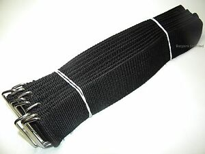Carpet Cleaning - Heavy Duty Straps (Set of 10) W/metal buckle