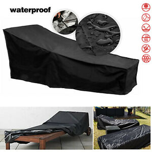 Heavy Outdoor waterproof Sunlounger Cover furniture dust cover— 210*75*80-40cm
